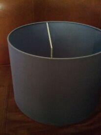 Blue-grey lampshade - free