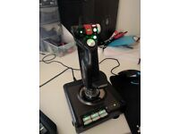 PC Gaming Joystick - Saitek X52 Pro Flight HOTAS System