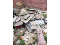 FREE Hard core rubble. Brandon, Suffolk.