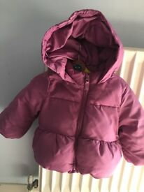 puffer baby jacket size 12-18, Gap