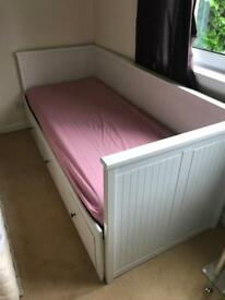 Ikea day bed with storage £50 (expands into double) - no mattress