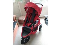 Phil n Teds All terrain push chair. Extras