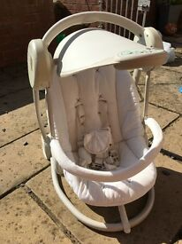 Mamas and Papas Starlight baby swing chair
