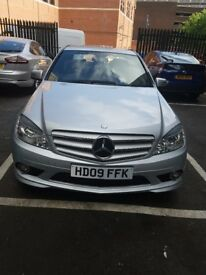 Silver Mercedes only 2 owners. FSH 34600 mileage. Very good condition. Leather heated seats.