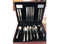 Viners 74 piece cutlery set