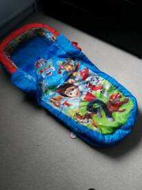 Paw Patrol Inflatable Toddler Bed