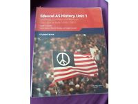 Edexcel AS History Unit 1 Student Book: The USA in Asia 1950-1973