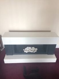 Electric fire surround suite for sale £100