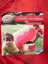 Kids Crawl Through Tunnel in bag used twice!