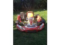 Gillard 010b chassis, rotax engine unsealed