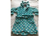 Girls M&S dressing gown 4-5yrs