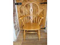 Quality,Child's(Beech Hardwood),Windsor Chair.