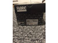 Brand New Fabric Navy Blue Trainers