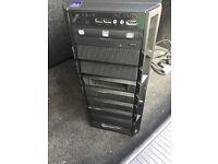 Jet Black GAMING/EDITING/WORK Computer Tower