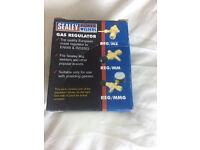Sealey MIG Gas Regulator Disposable Cylinder Made To ISO 2503- No Gauge - REG/MM