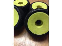 Rc car integy wheels & tyres