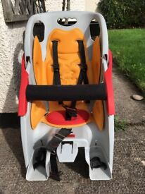 Used CoPilot Limo Bicycle Child seat in good condition for children up to 40lb/18kg