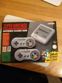 SNES mini classic with over 300 games added