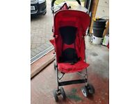Brilliant condition Red Pulse Stroller