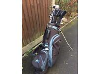 Mitsushiba Golf Carry Stand Bag, Full Set of Clubs and extras