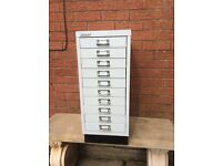 Bisley 10 Drawer Filing Cabinet in excellent conditon