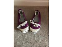 Fat Face Canvas Shoes Size 7 Worn Once