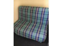 Small Double Futon Fold Out Sofa Bed