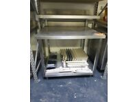 TWO TIER COMMERCIAL KITCHEN TABLE *AST162*
