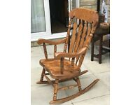 Pine Rocking Chair for sale Collection only