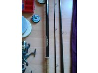 13ft float match rod an reels