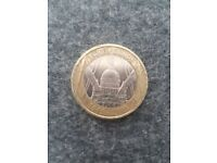 St Paul's Cathedral £2 Coin