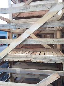 Strong Wooden Crate Solid Floor Ideal for Decking/Stripping/Furniture Project