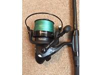 Prologic marker rod & wychwood 7500 reel