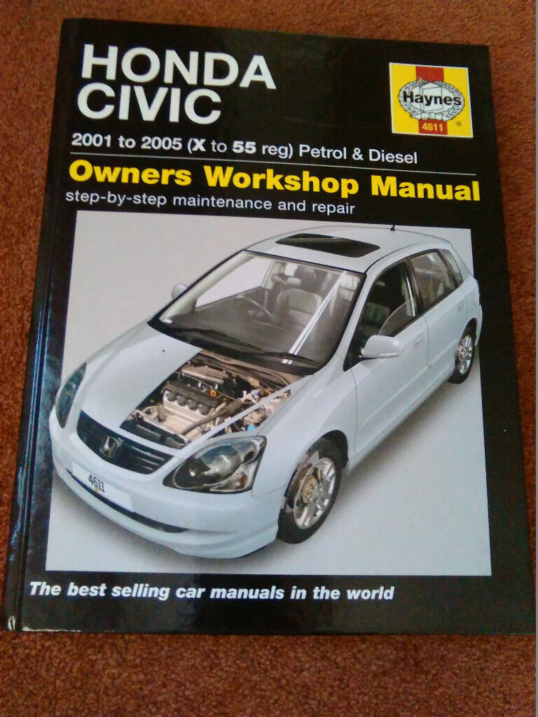 Honda Civic 2000 to 2005 Haynes Service and Repair Manual 4611