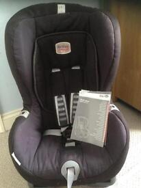 Britax car seat with isofix duo plus up to 18kg
