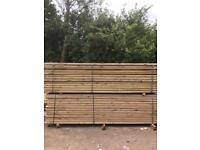Pressure treated decking boards 3.6m