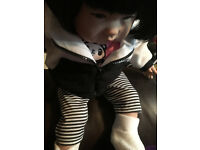 REBORN DOLL Lifelike Realistic Asian Weighted Baby