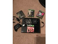 X box one and accessories with games