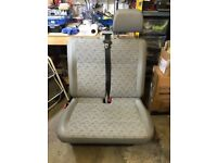 VW Transporter T5 Double Passenger Seat (in Place Trim)
