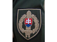 Slovakian Quilted Police Parka / Jacket (as new) - size XL