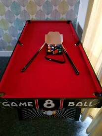 5 foot pool table