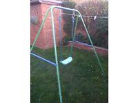 Child's outdoor swing