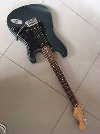 Fender Strat' rare colour , custom shop pickups + case . And lead .