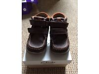 Clarks Child shoe size 5F Brown