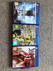 PS4 Games X3