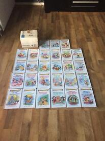 Rare Collection of Disney Grolier books