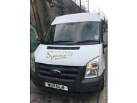 2011 FORD TRANSIT WHITE VAN FOR SALE