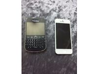 Iphone 5 and Blackberry Spair and Repair