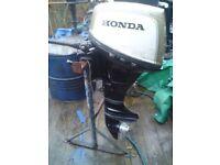 HONDA OUTBOARD 7.5HP SHORT SHAFT 4STROKE