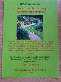 Gardening / Gutter Cleaning / Pressure Washing & Handyman Services